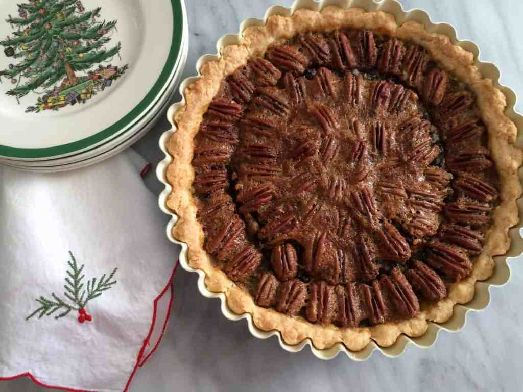pecan-bourbon-chocolate-tarte