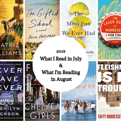 Collage of Summer Reading books.