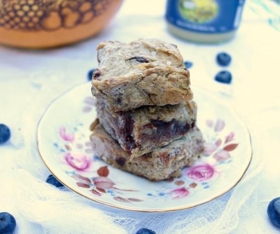 Sweet Potato Tahini Protein Bars. Gluten-free, grain-free and vegan.