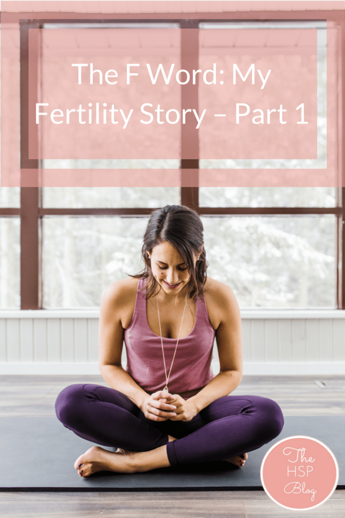Today I'm sharing something that is very personal to me - my fertility story. I was diagnosed with Hypothalamic Amenorrhea as well as a Septate uterus which have both significantly impacted my ability to conceive. I want start talking about fertility more openly to end the stigma associated with infertility.