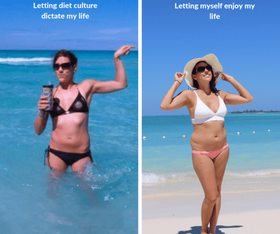Do you equate your body size with being happy, successful and attractive? You are not alone. But your body size does not determine how happy you will be.