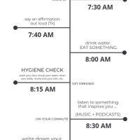 Self-care Every Morning: A Morning Routine