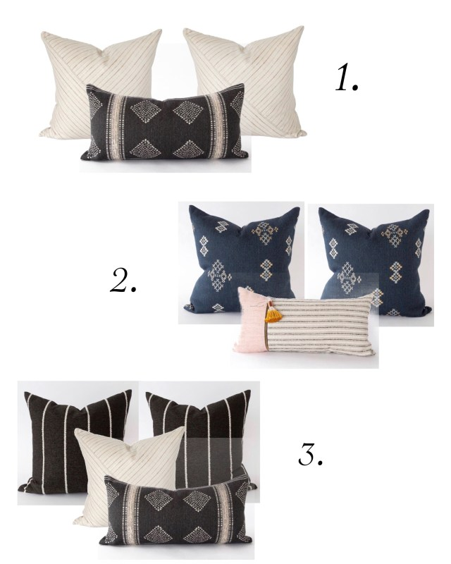 Tonic Pillow Combos