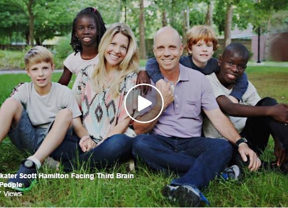 Inspiring Words – Olympic Skater Scott Hamilton Facing Third Brain Tumor Diagnosis