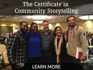 The Certificate in Community Storytelling