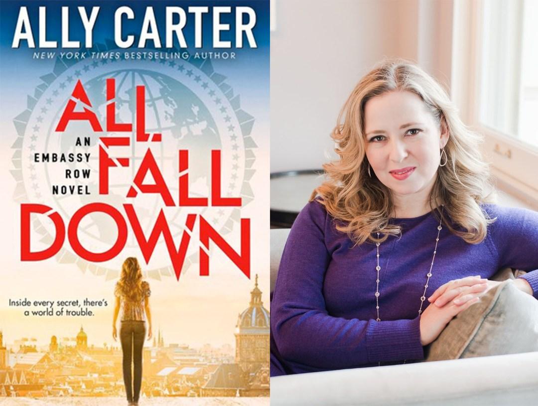 ally carter q&a  - theheartofabookblogger