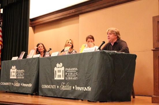 tough topics panel - the heart of a book blogger