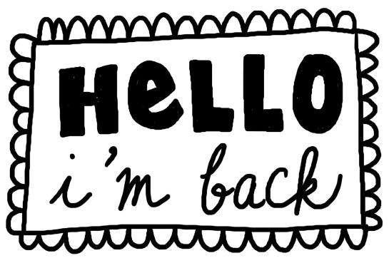 im back - theheartofabookblogger
