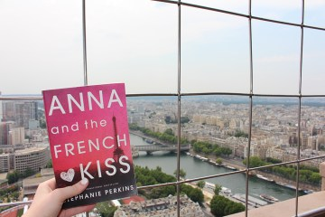 top of eiffel tower - theheartofabookblogger