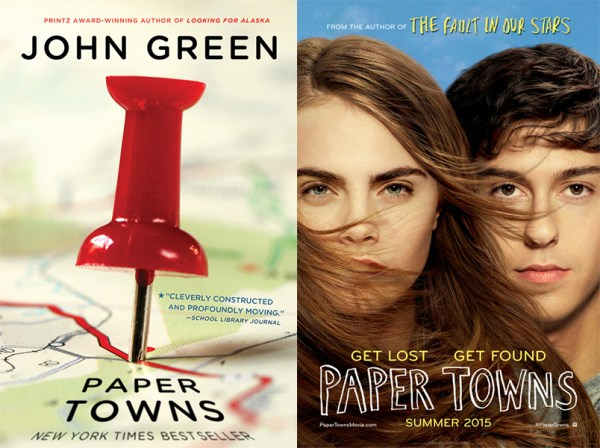 Paper Towns book movie differences