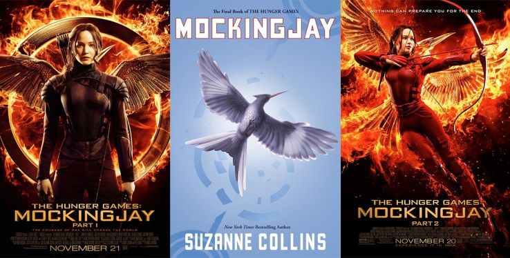 Mockingjay book movie differences