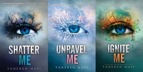 shatter me trilogy - theheartofabookblogger