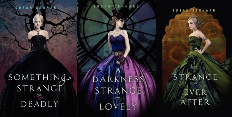 something strange & deadly trilogy - theheartofabookblogger