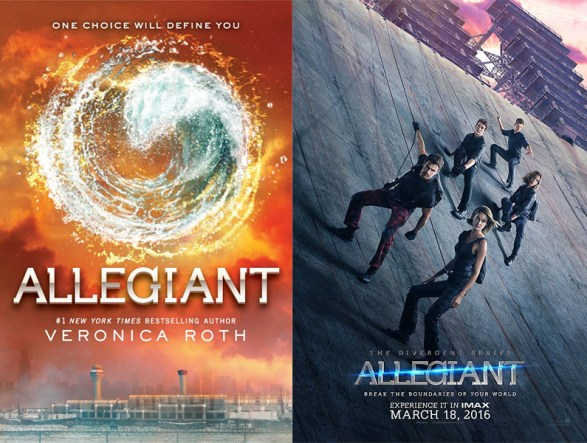 Allegiant book movie differences