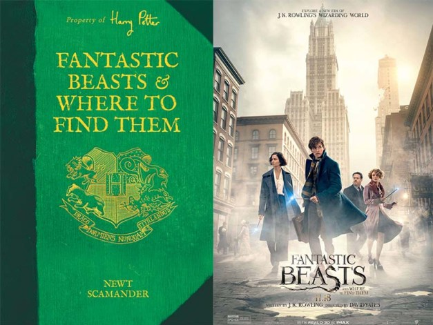 Fantastic Beasts book movie differences