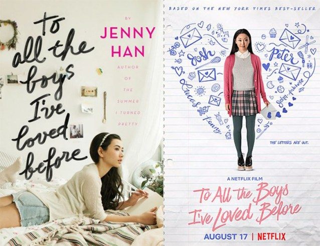 To All the Boy's I've Loved Before book movie differences
