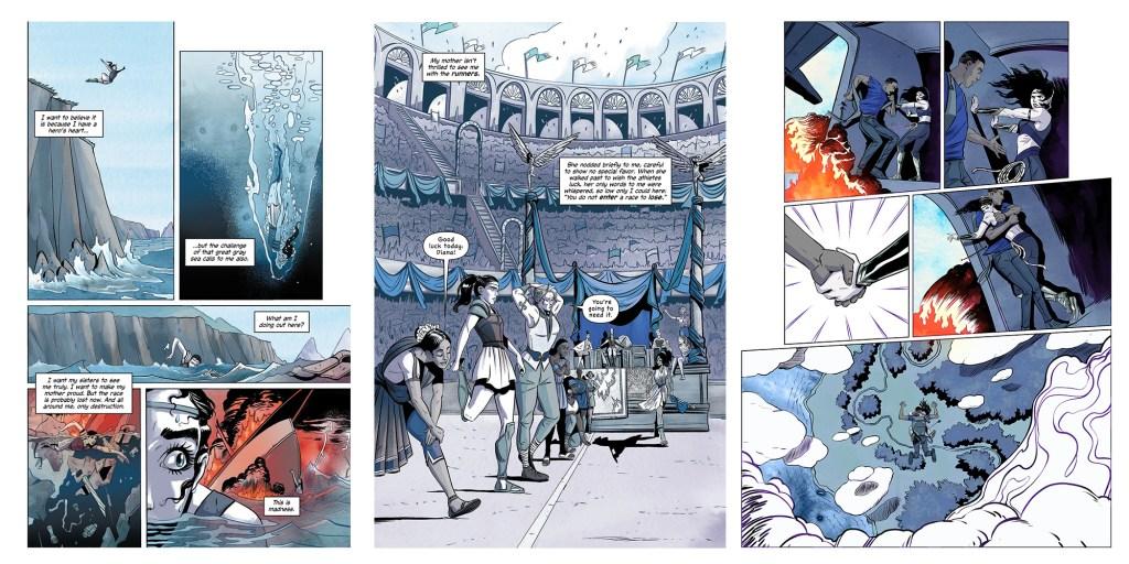 Wonder Woman Warbringer Graphic Novel
