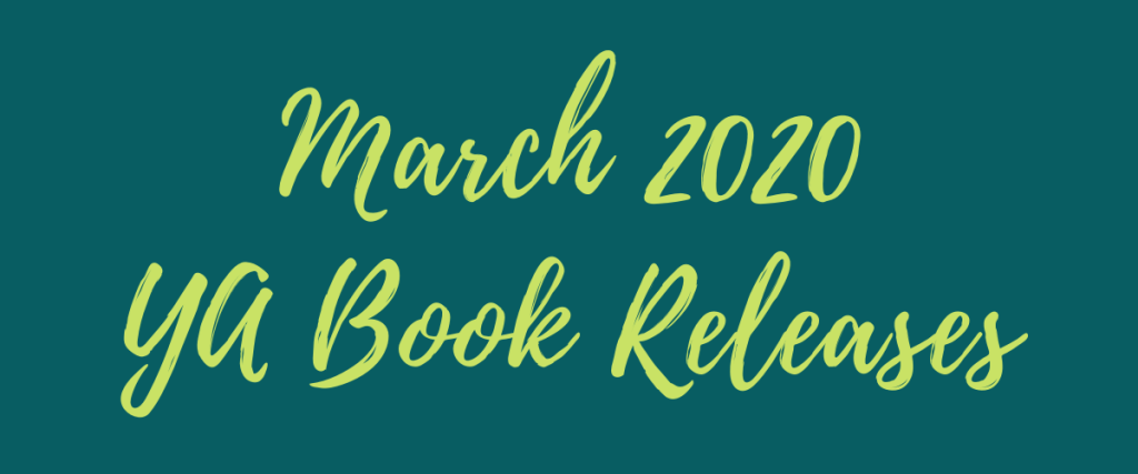 March 2020 YA Book Releases