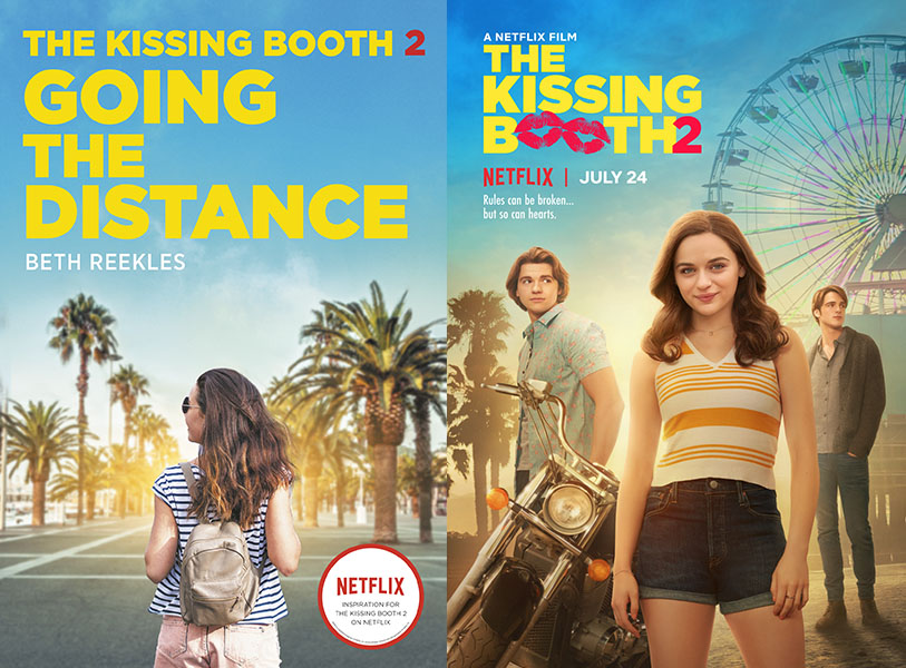 The Kissing Booth 2 book movie differences