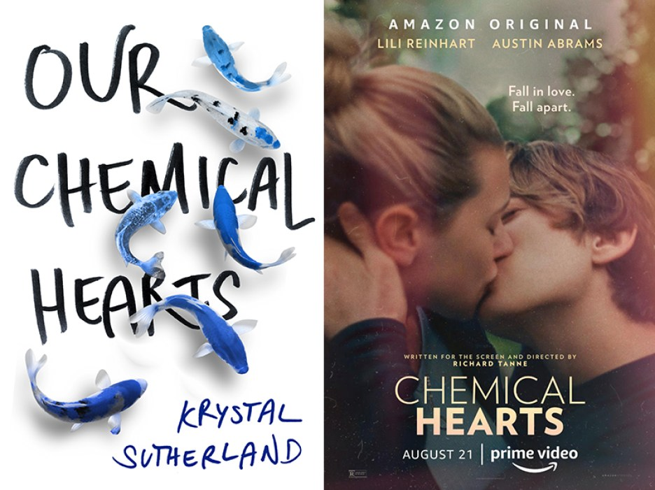 Chemical Hearts book movie differences