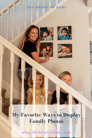 My Favorite Ways to Display Family Photos