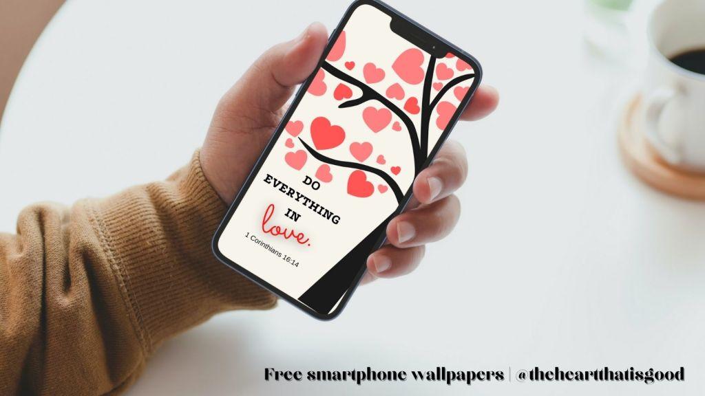 Scripture Art - Smartphone Wallpapers