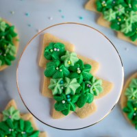 Easy Cut Out Sugar Cookies with Buttercream  Frosting