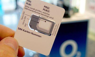 Kostenlose SIM Karten von Vodafone CallYa und o2 Telefonica'