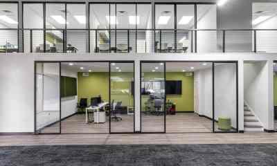 Glass Office Walls