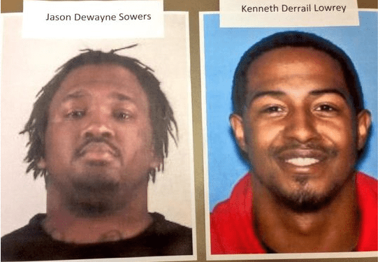 DEA officials said Jason Sowers and Kenneth Lowery are still at large out of Arkansas. If you have any information on their whereabouts, contact authorities.