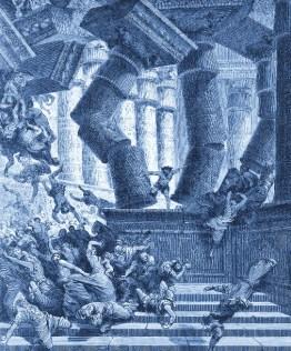 G. Dore - Death Of Samson - courtesy Creationism.org - Public Domain