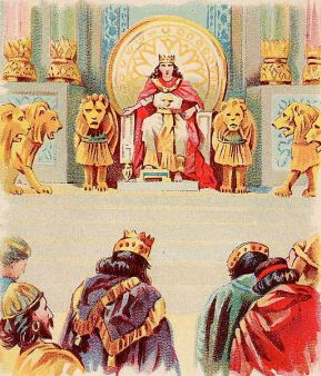 513px-Solomon's_Wealth_and_Wisdom ikipedia. Public Domain