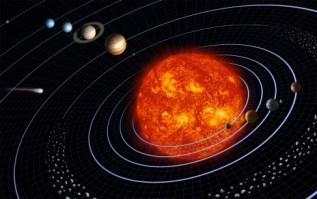 Solar System NASA public domain