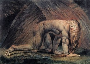 http://en.wikipedia.org/wiki/File:William_Blake_-_Nebuchadnezzar_-_WGA02216.jpg