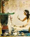 http://commons.wikimedia.org/wiki/File:John_Weguelin_-_The_Obsequies_of_an_Egyptian_Cat_-_Google_Art_Project.jpg