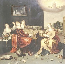 Francken Hieronymus the Younger - Parable of the Wise and Foolish Virgins - c 1616 - Wikipedia - Public Domain