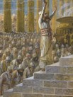 http://en.wikipedia.org/wiki/File:Tissot_Solomon_Dedicates_the_Temple_at_Jerusalem.jpg