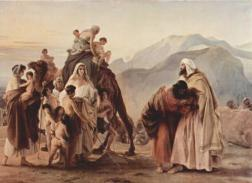 http://www.wikipaintings.org/en/francesco-hayez/meeting-of-jacob-and-esau-1844#close