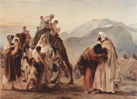 http://www.wikipaintings.org/en/francesco-hayez/meeting-of-jacob-and-esau-1844#close
