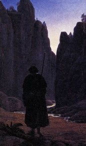 http://commons.wikimedia.org/wiki/File:Carl_Gustav_Carus_-_Pilgrim_in_a_Rocky_Valley_-_WGA4522.jpg