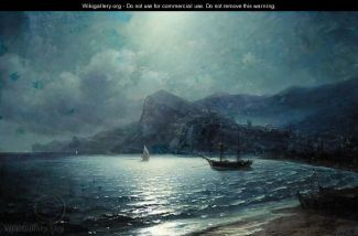 http://www.wikigallery.org/wiki/painting_364842/(after)-Ivan-Konstantinovich-Aivazovsky/Shipping-In-A-Bay-By-Moonlight