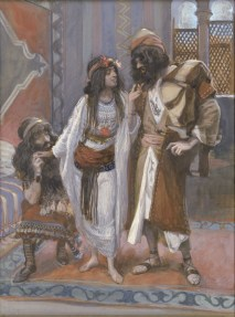 http://en.wikipedia.org/wiki/File:Tissot_The_Harlot_of_Jericho_and_the_Two_Spies.jpg