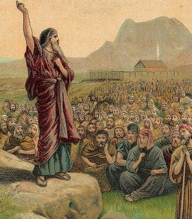 http://en.wikipedia.org/wiki/File:Moses_Pleading_with_Israel_(crop).jpg