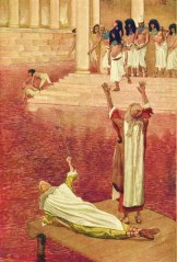 http://en.wikipedia.org/wiki/File:Tissot_Water_Is_Changed_into_Blood.jpg