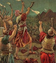 Gideon and His Three Hundred (Bible Card) www.thebiblerevival.org - Wikimedia - Public Domain