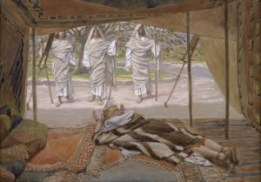 http://en.wikipedia.org/wiki/File:Tissot_Abraham_and_the_Three_Angels.jpg