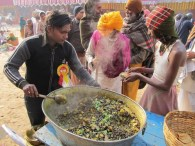 http://commons.wikimedia.org/wiki/File:Free_Food_Distribution_-_Gangasagar_Fair_Transit_Camp_-_Kolkata_2012-01-14_0691.JPG