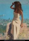 Woman in Mediterranian - Wikipaintings - US Public Domain
