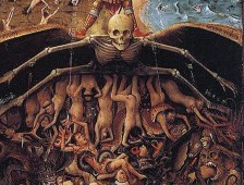 Jan van Eyck Diptych Crucifixion Right Detail wikimedia US public domain