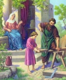 Jesus grew up as a carpenter's son Matthew 13:55